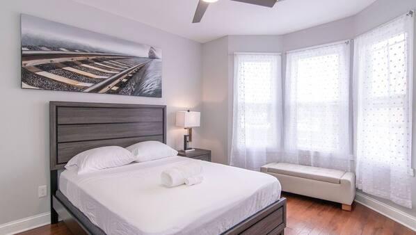 2 soverom, wi-fi og sengetøy