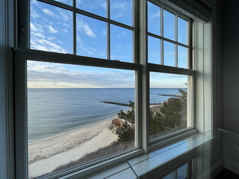 , Cape Cod Oceanfront Beachfront New Condo With Ocean View & Private Sandy Beach!