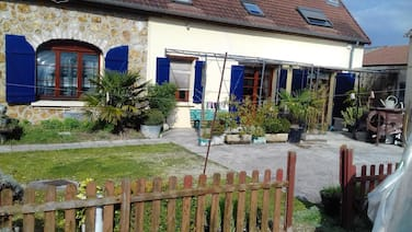 House With 3 Bedrooms in Bergères-lès-vertus, With Enclosed Garden and Wifi