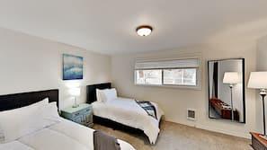 3 間臥室、熨斗/熨衫板、免費 Wi-Fi