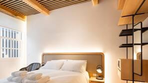 1 dormitorio, Internet, ropa de cama