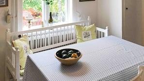 3 sovrum och unika möbler