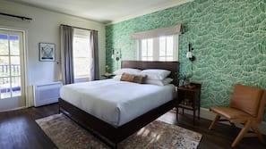 Premium bedding, down comforters, Tempur-Pedic beds, free minibar items
