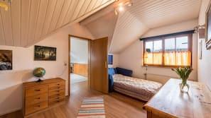 5 Schlafzimmer, Bügeleisen/Bügelbrett, WLAN, Bettwäsche