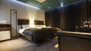 1 개의 침실, 무료 WiFi, 침대 시트