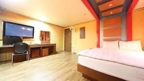 1 間臥室、免費 Wi-Fi、床單