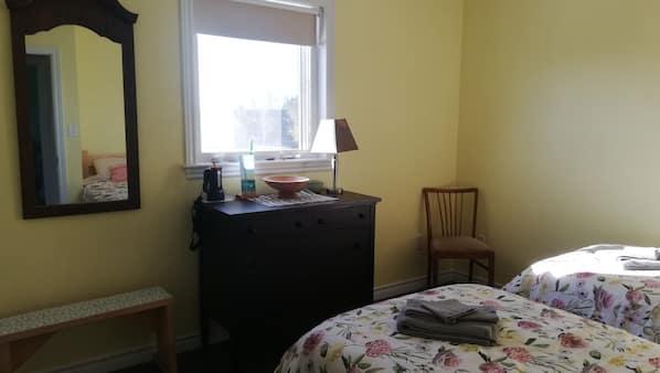 1 bedroom, iron/ironing board, travel crib, free WiFi