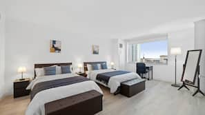 2 bedrooms, laptop workspace, iron/ironing board, free WiFi