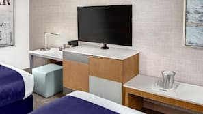 3 slaapkamers, een strijkplank/strijkijzer, internet, beddengoed
