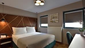 Egyptian cotton sheets, premium bedding, Tempur-Pedic beds, minibar