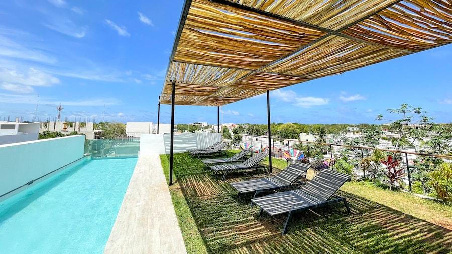 Katalox Jungle Lofts by Simply Comfort Tulum Centre Rooftop Patio & Pool