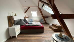 1 Schlafzimmer, Reisekinderbett, kostenloses WLAN, Bettwäsche
