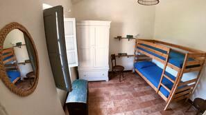 3 chambres, lit parapluie, Wi-Fi gratuit, draps fournis