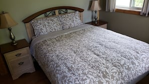 Premium bedding, pillowtop beds, individually decorated