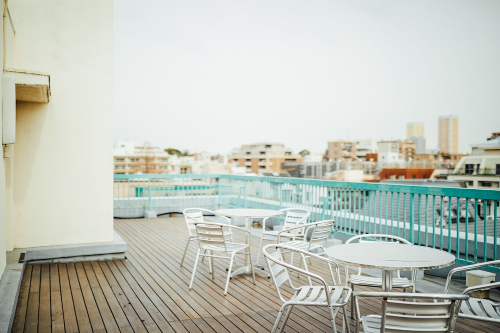 Rooftop terrace, Hotel Graphy Nezu