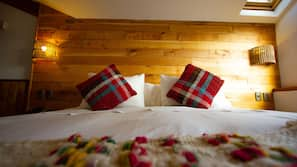 Premium bedding, in-room safe, soundproofing, free WiFi