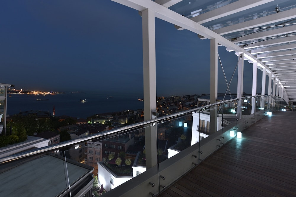 View from Property, CVK Park Bosphorus Hotel Istanbul