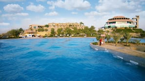 Outdoor pool, an aquatic centre