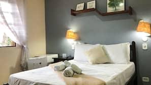 Frigobar, individualmente decorados, Wi-Fi de cortesia, roupa de cama