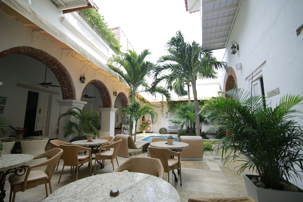 Courtyard, Hotel Boutique Don Pepe