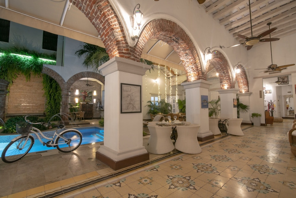 Lobby, Hotel Boutique Don Pepe