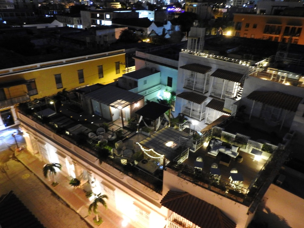 Aerial View, Hotel Boutique Don Pepe