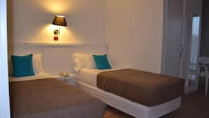 Memory foam beds, in-room safe, iron/ironing board, free WiFi
