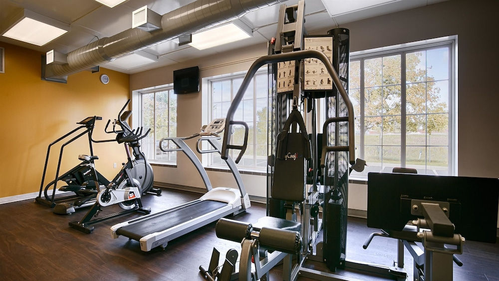 Gym, Best Western Milton
