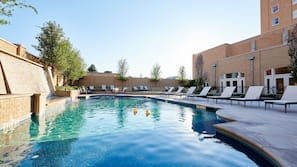 Outdoor pool, open 8:00 AM to 10:00 PM, pool cabanas (surcharge)