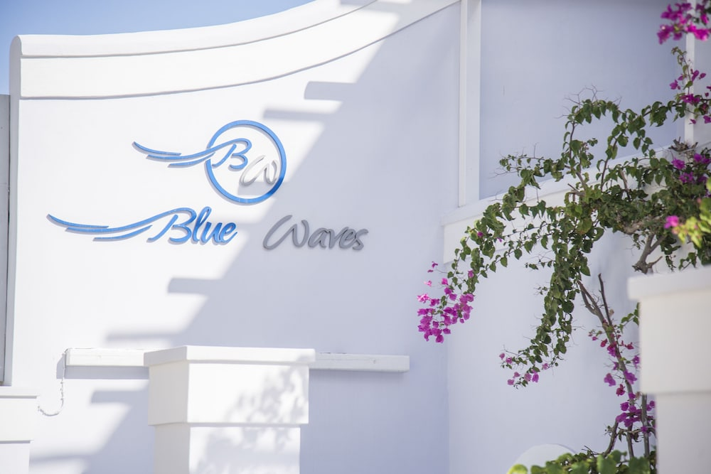 Exterior detail, Blue Waves Hotel