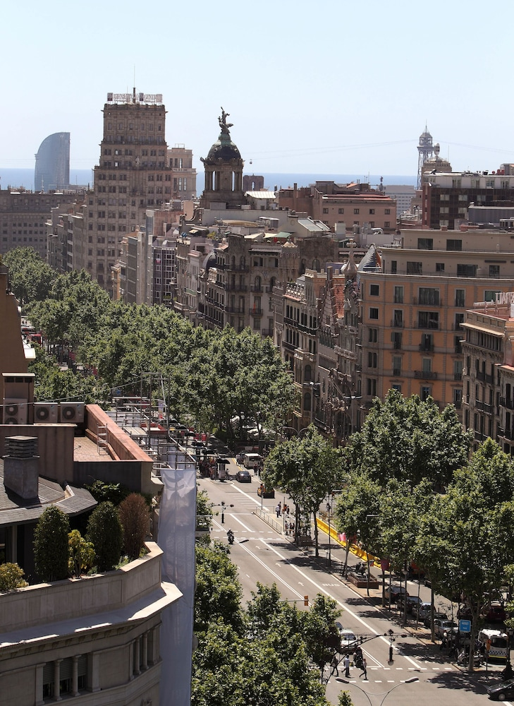 View from Property, Hotel Royal Passeig de Gracia