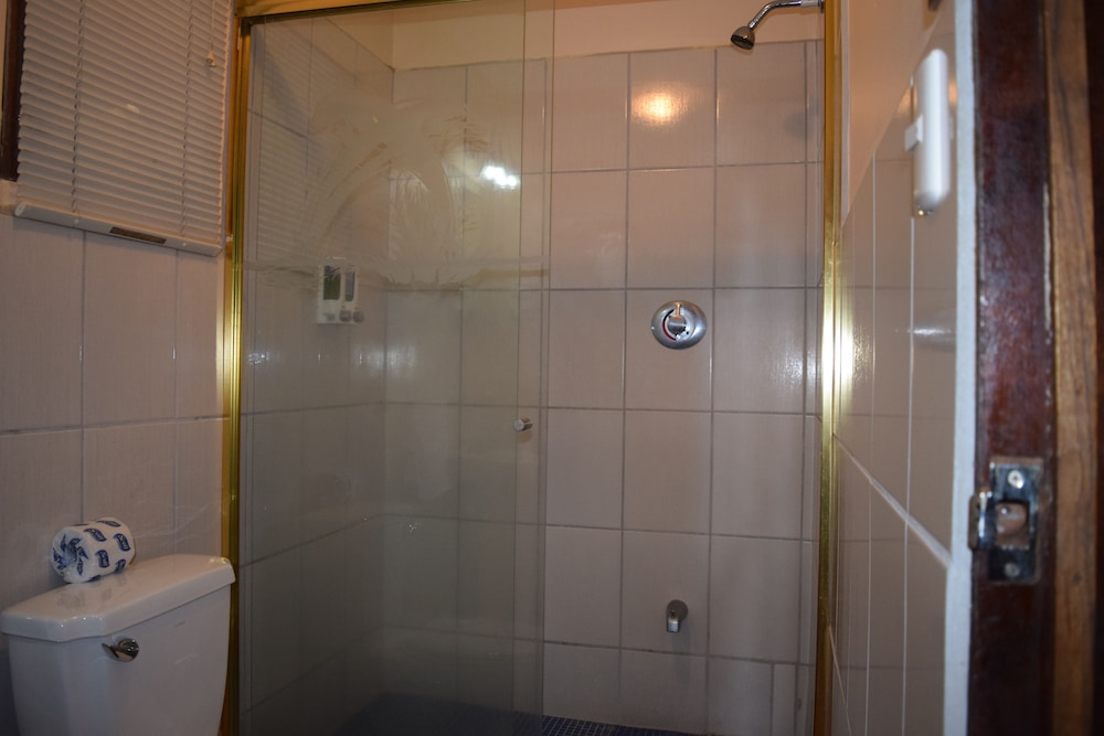 Bathroom Shower, Hotel Las Tres Banderas