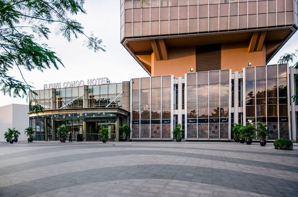 Front of Property, FLEUVE CONGO HOTEL BY BLAZON HOTELS