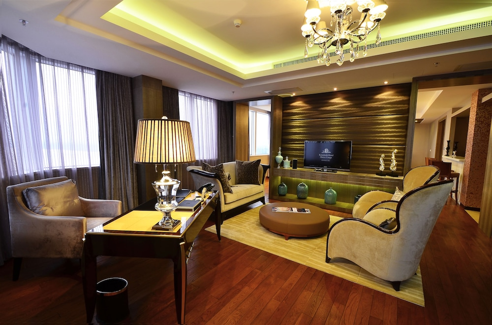 Living Area, FLEUVE CONGO HOTEL BY BLAZON HOTELS