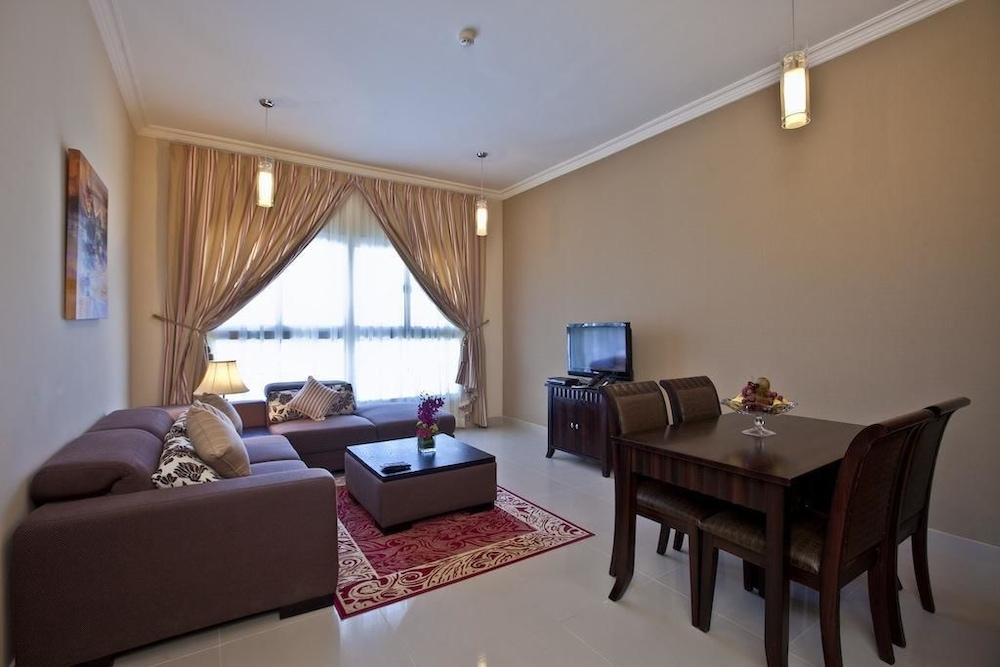 Living Room, Doha Downtown Hotel Apartment
