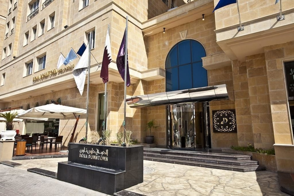 Property Entrance, Doha Downtown Hotel Apartment