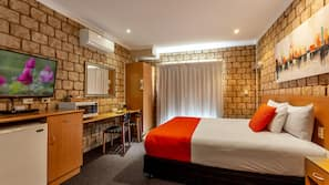 Down duvets, pillow-top beds, in-room safe, individually decorated