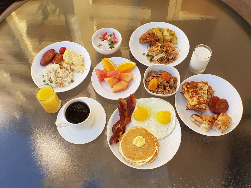 Breakfast buffet, Guam Plaza Resort & Spa