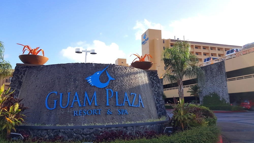Property Entrance, Guam Plaza Resort & Spa
