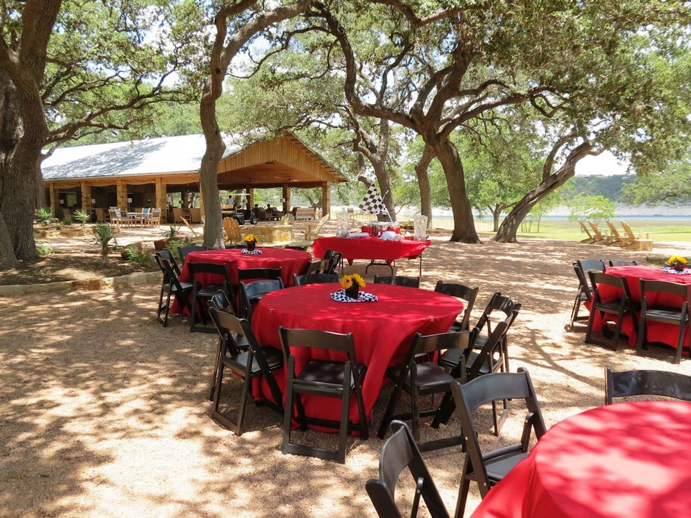 Outdoor Banquet Area, The Reserve At Lake Travis