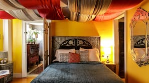 Premium bedding, pillow top beds, individually decorated