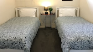 Premium bedding, individually furnished, iron/ironing board