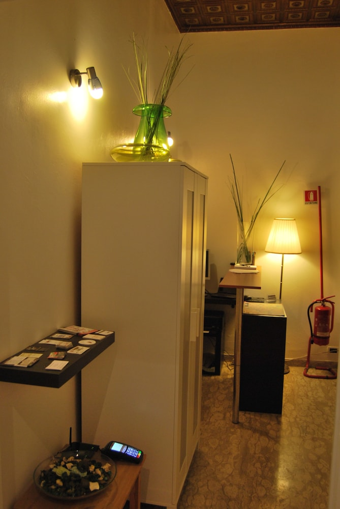 Reception, Core de Roma Suites