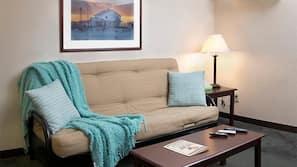 Premium bedding, free WiFi, alarm clocks