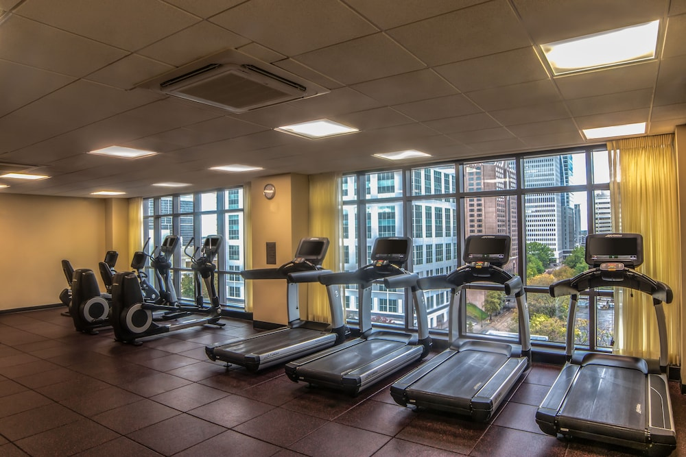 Fitness Facility, Hyatt Place Charlotte Downtown