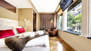 Minibar, una cassaforte in camera, Wi-Fi gratuito