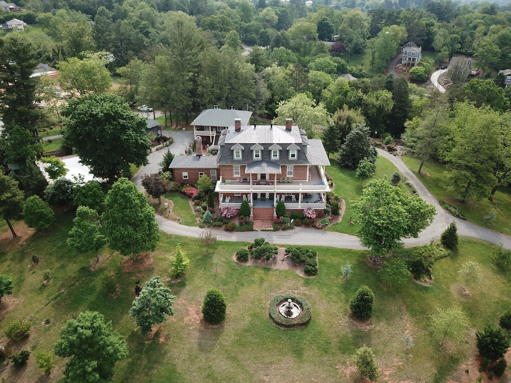 Aerial View, The Reynolds Mansion