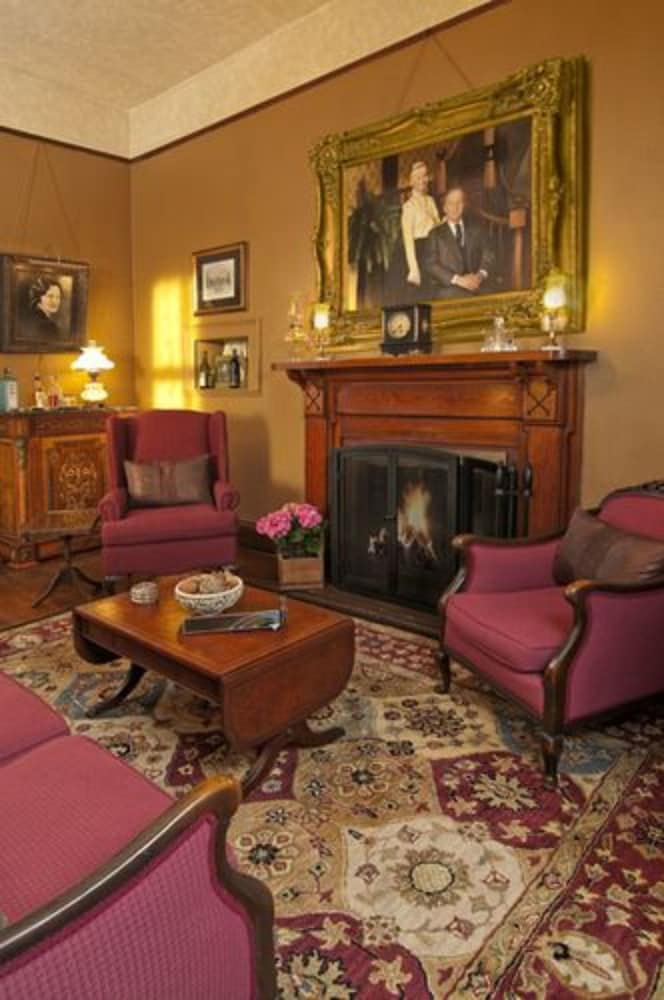 Fireplace, The Reynolds Mansion