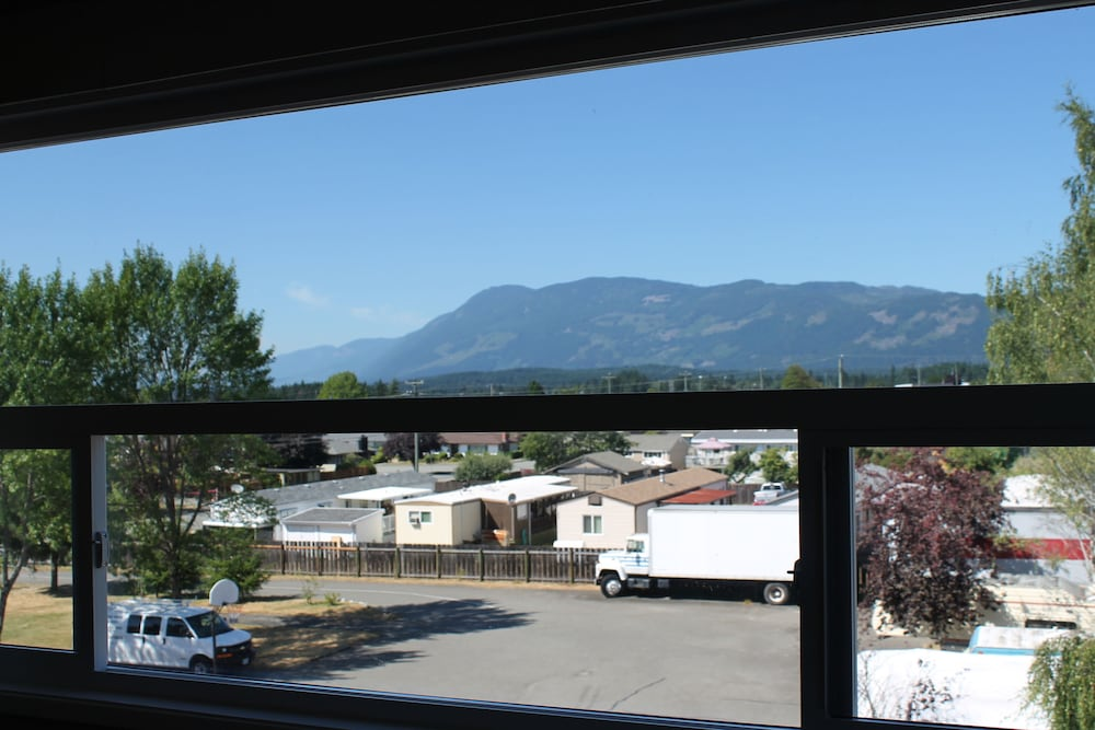 View from Room, Redford Motel