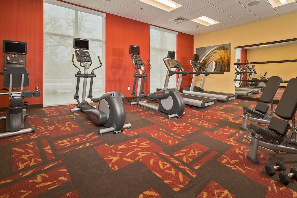 Fitness Facility, Courtyard Glassboro Rowan University